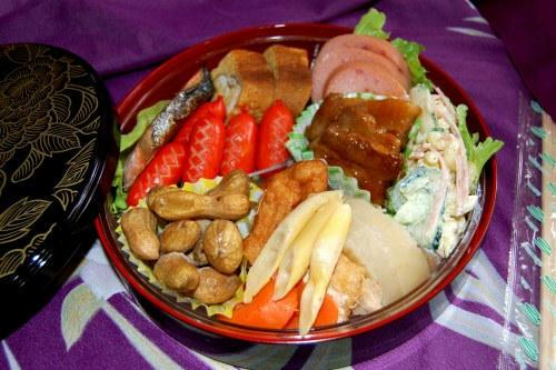 敬老会の弁当