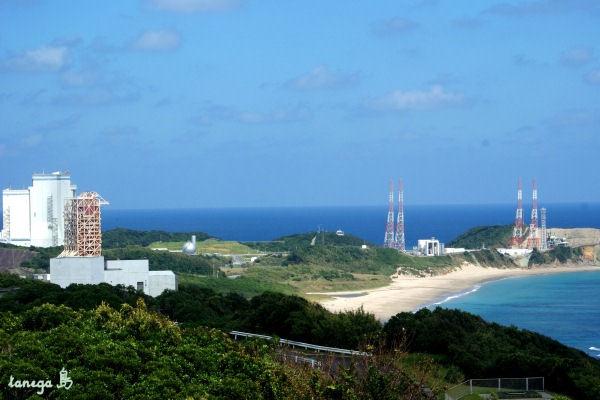 大型ロケット発射場全景