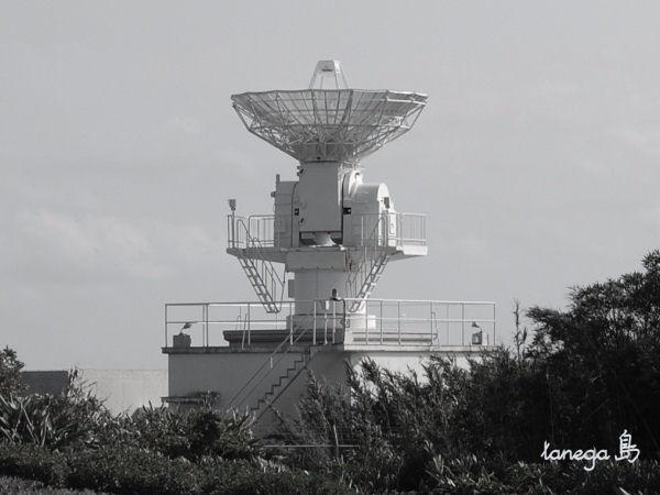 ロケット精測レーダーアンテナ