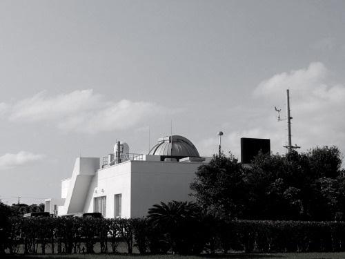衛星レーザー測距観測棟