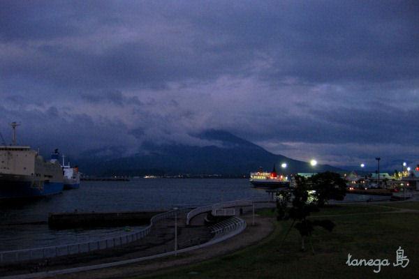 桜島の夜景