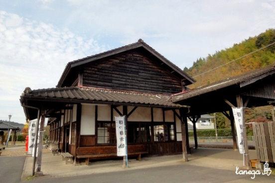 大隅横川駅 駅舎