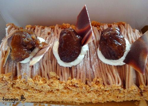モンブラン ロールケーキ