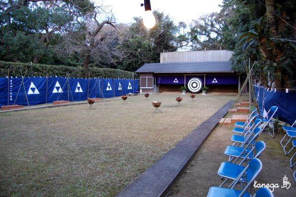 栖林神社 大的始式