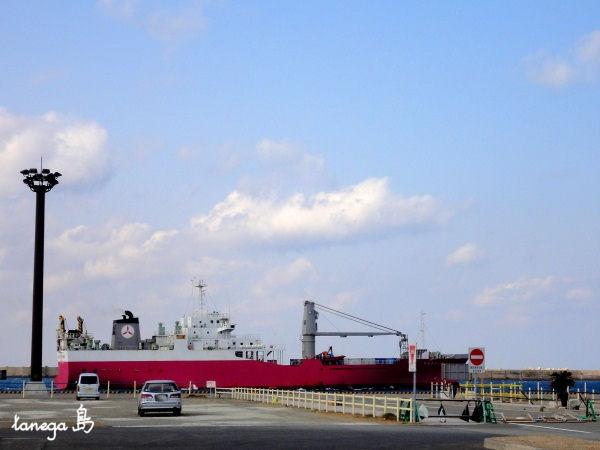 西之表港 出航する「はいびすかす」