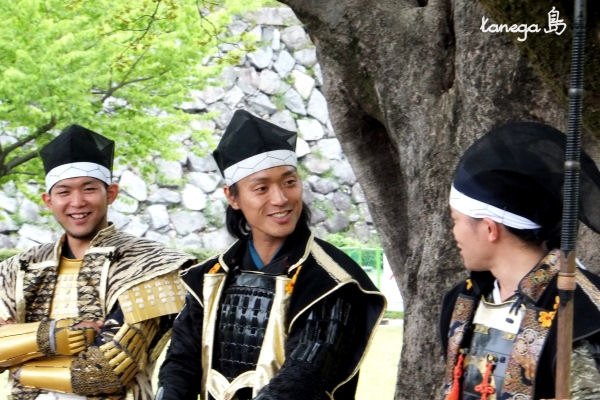 徳川、加藤、前田、亀吉、立三