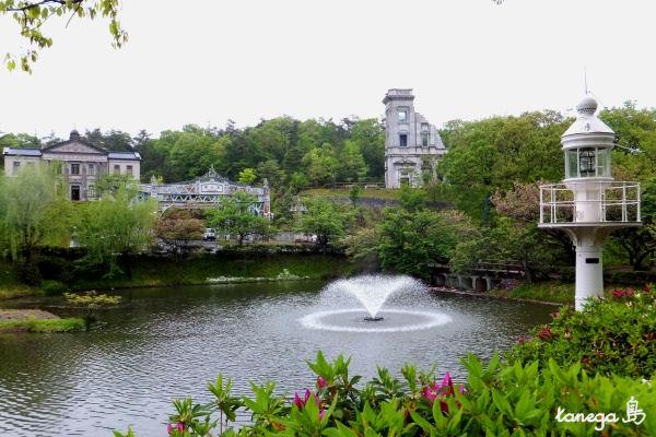 天童眼鏡橋からの景色