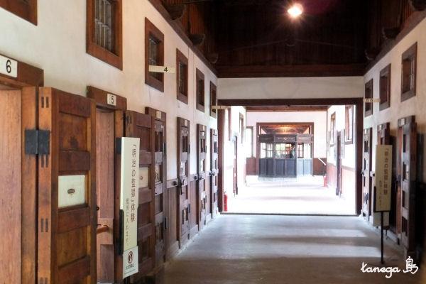 金沢監獄監房