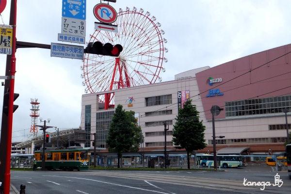 鹿児島中央駅前 市電