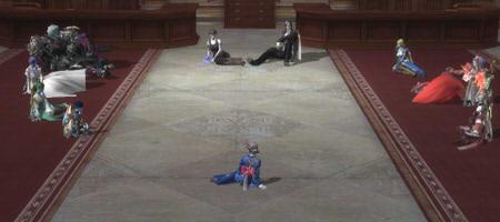 レギオン会議を開いてもらった。裁判のような雰囲気ですガクガクブルブル