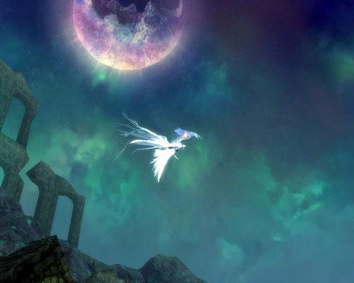 美しいアルトガルト/インペトシウムの飛行風景