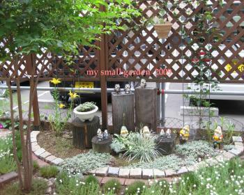 my small garden 2009