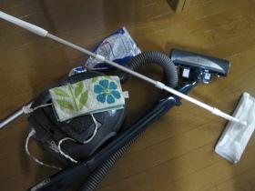 026大掃除:玄関クローゼットの大掃除/掃除用具