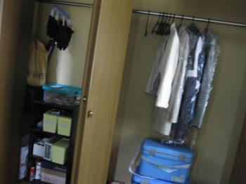 大掃除・収納・整理:玄関クローゼットの大掃除前
