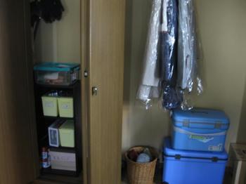 大掃除・収納・整理:玄関クローゼットの大掃除後