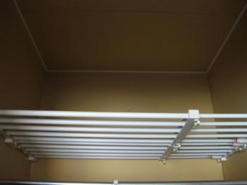 大掃除・整理・収納:伸縮棚収納