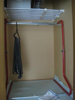 大掃除・整理・収納:クローゼットの大掃除