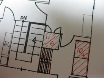 大掃除・整理・収納:クローゼットの大掃除図
