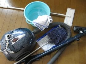 大掃除・整理・収納:クローゼットの大掃除道具
