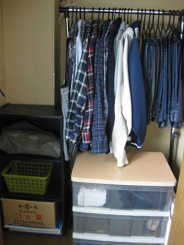 muku的生活:クローゼットの整理・収納