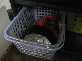 大掃除、整理、収納/テレビ台には地震対策の懐中電灯!