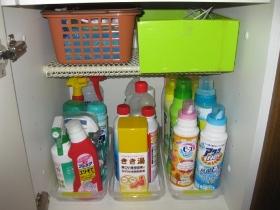 整理、収納、大掃除のやり方/(キャビネット)洗面化粧台の収納