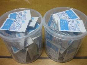 整理、収納/muku的 収納方 空き綿棒ケースで使い捨てコンタクトレンズ収納!