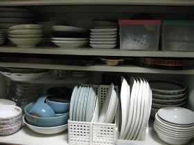 整理、収納、大掃除のやり方/食器棚 収納!