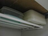 整理、収納、大掃除のやり方/muku的 収納方 伸縮棚で収納力アップ!