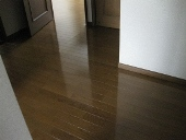 大掃除/床掃除 ワックスがけ後
