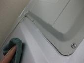 大掃除/冷蔵庫の裏側を掃除...