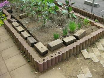 mukuの庭/野菜畑のブロックを移動