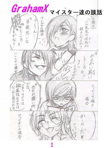 3年G組ガンダム☆マイスター(ミニキャラ)