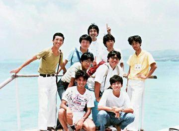 1984年8月28日 第8回アメリカ横断ウルトラクイズ グアム・ココス島にて