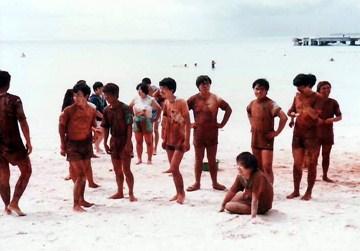 第8回ウルトラクイズ ココス島 どろんこクイズ 02