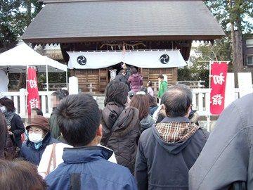 神社へ初詣