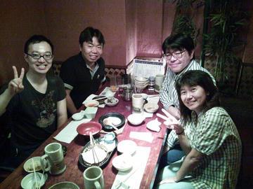 2012年10月06日 ウルトラ合同同窓会 幹事慰労会