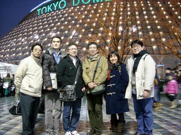 2012年12月15日(土) 第12回ウルトラクイズ 忘年会 東京ドーム前