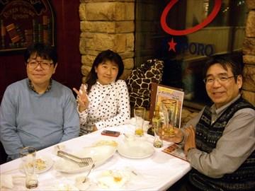 2013年04月14日(日) 新宿にて、堀口さんお誕生日会
