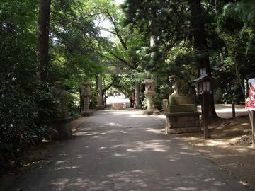 久伊豆神社 二の鳥居