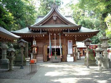 久伊豆神社 拝殿