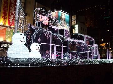 2013年12月21日(土) 新橋駅SL広場
