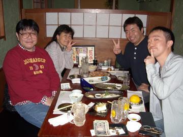 2014年11月29日(土) ウルトラ合同同窓会 幹事忘年会
