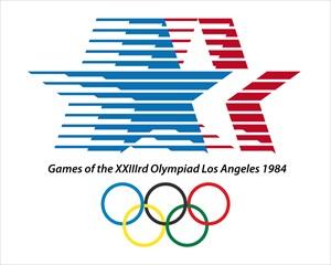1984年 ロサンゼルスオリンピックマーク
