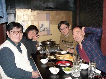 2016年11月26日(土) ウルトラ合同同窓会 幹事慰労会 新橋にて