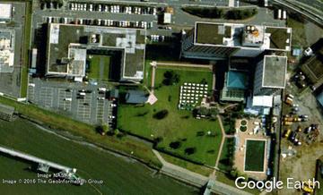 1997年 羽田東急ホテル Google Earthより