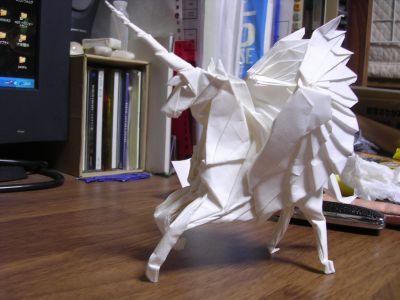 折り 折り紙 折り紙 ペガサス 折り方 : ong.blog.shinobi.jp