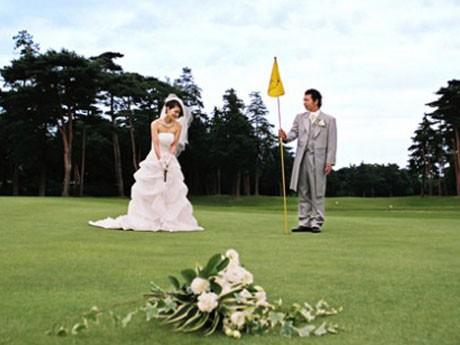 ゴルフ場を使った結婚式
