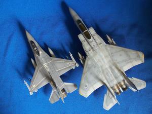 F-15 F-16