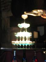 シャンパンタワーw